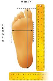 Đo bàn chân