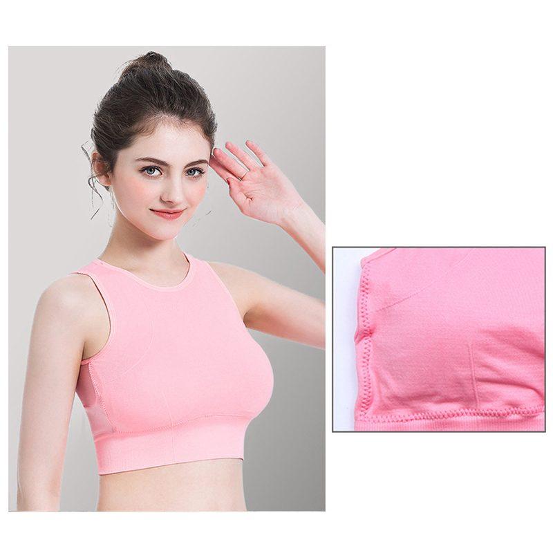 Áo bras crossfit màu hồng