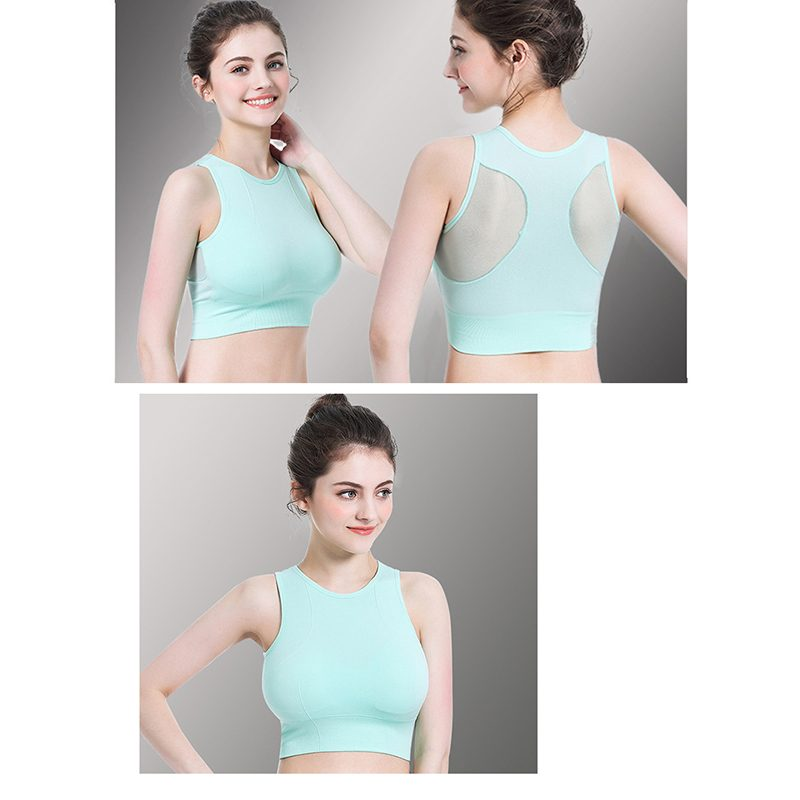 Áo bras crossfit màu mint