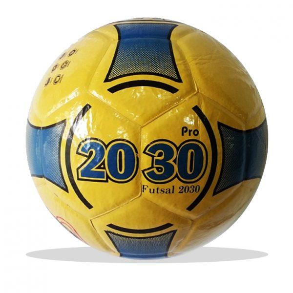 Bóng đá futsal 2030 màu vàng xanh