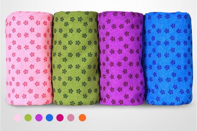 khăn phủ trải thảm tập yoga