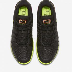 Giày thể thao tennis Nike zoom vapor 9.5 tour Federer đen
