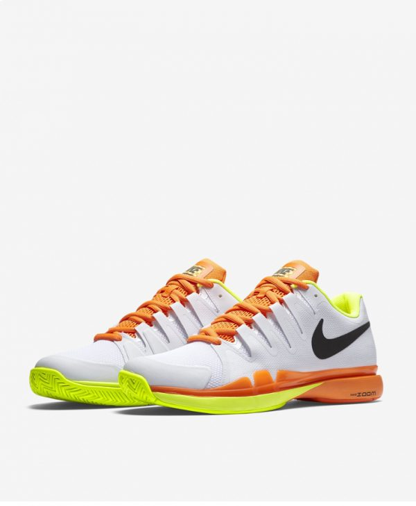 Giày thể thao tennis Nike zoom vapor 9.5 tour Federer trắng