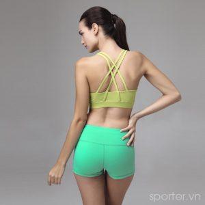 Bộ quần áo tập gym yoga nữ ngắn