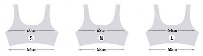 chọn size áo ngực thể thao bras croptop tập yoga gym nữ