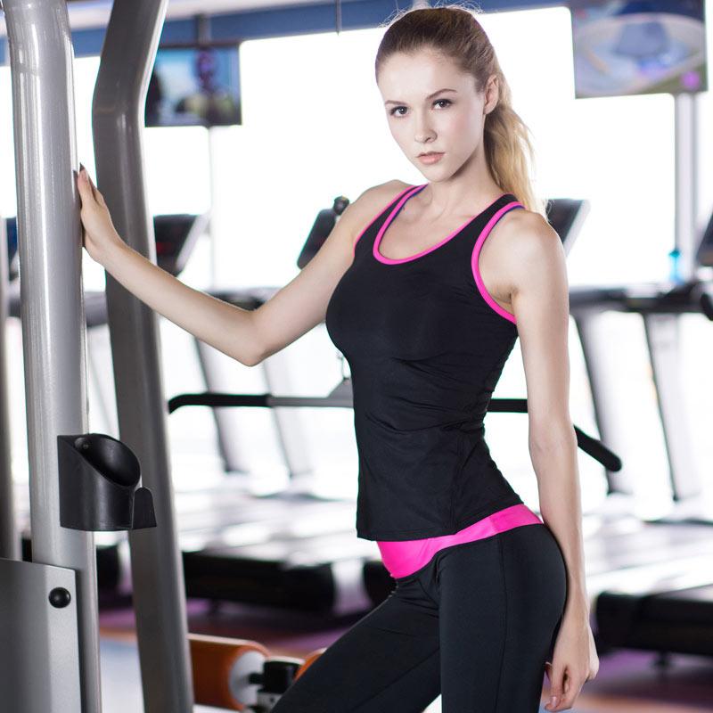 áo tanktop 360s training đen hồng