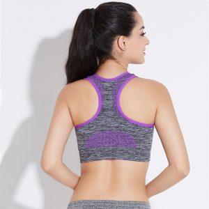 Áo bras thermal tím
