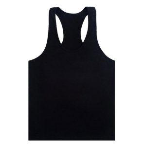 áo ba lỗ tập gym đen