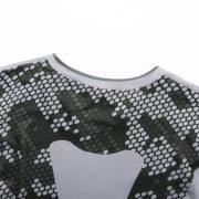 áo thun nam tập gym fg1 trắng rằn ri