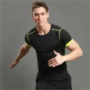 áo thun thể thao f7 đen tập gym