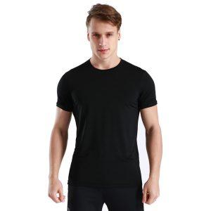 Áo thun thể thao vesta đen