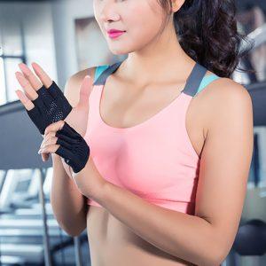 găng tay tập gym nữ fitty wear nửa bàn đẹp