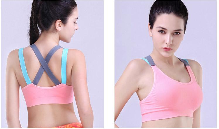 Áo ngực thể thao bra 360s Motion màu hồng phấn