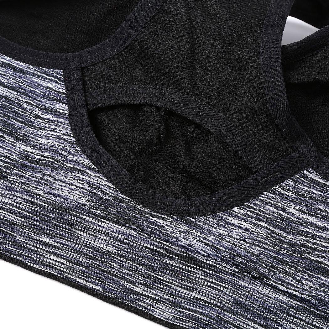 áo ngực thể thao bra 360s Reflaxed xám