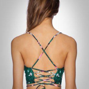 đồ bơi áo tắm bikini 360s Âu Mỹ dây hoạ tiết
