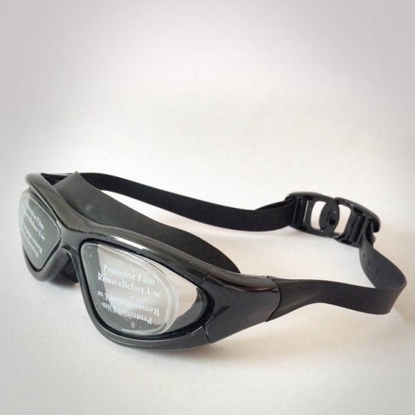 mắt kính bơi buckle pp màu đen cao cấp