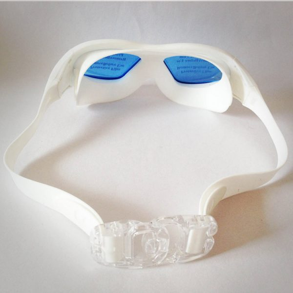 mắt kính bơi buckle pp màu trắng cao cấp