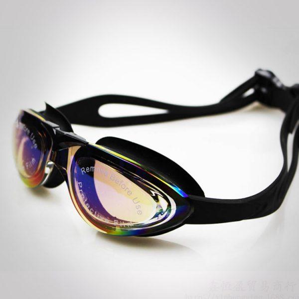kính bơi tốt cao cấp buckle up màu đen