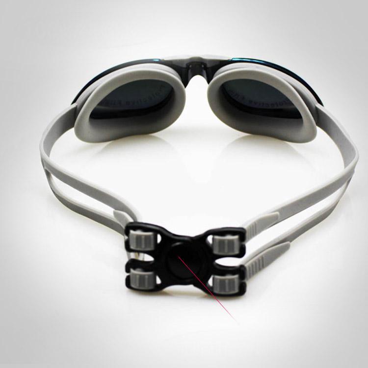 kính bơi tốt cao cấp buckle up màu trắng