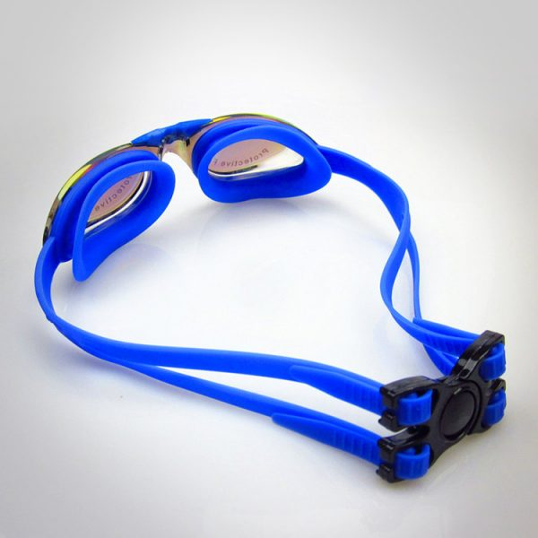 kính bơi tốt cao cấp buckle up màu xanh