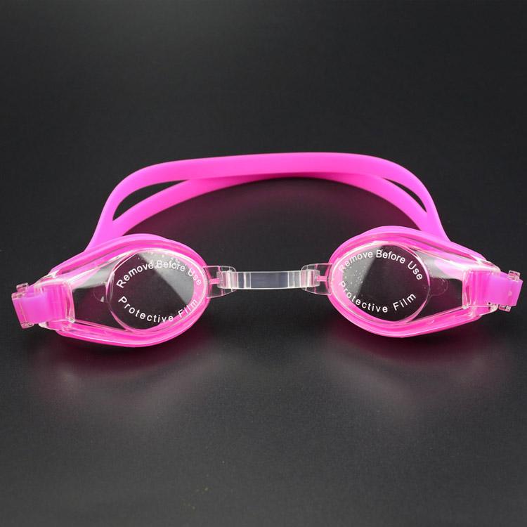 mắt kính bơi win chống nước loại tốt màu hồng