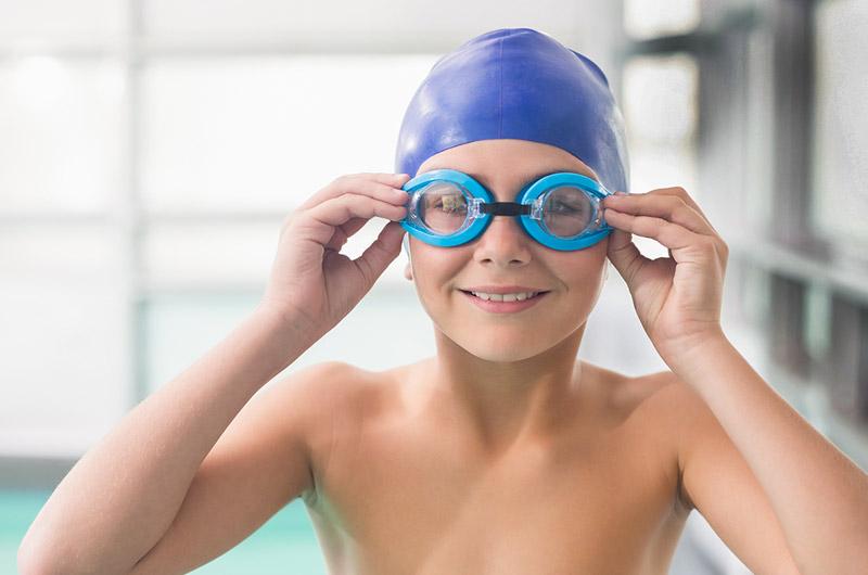 nón kính và phụ kiện bơi lội
