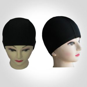 mũ nón bơi nam nữ 360s poly đen