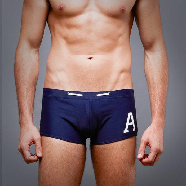 quần đùi bơi nam 360s fa navy màu xanh đen