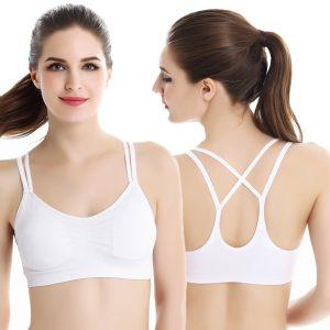 Bras elastic màu trắng