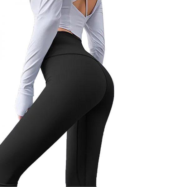 Quần legging lux màu đen