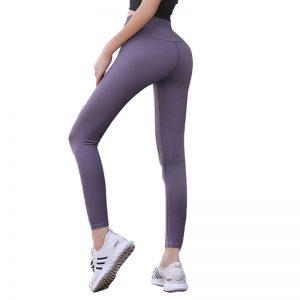 Quần legging lux màu tím