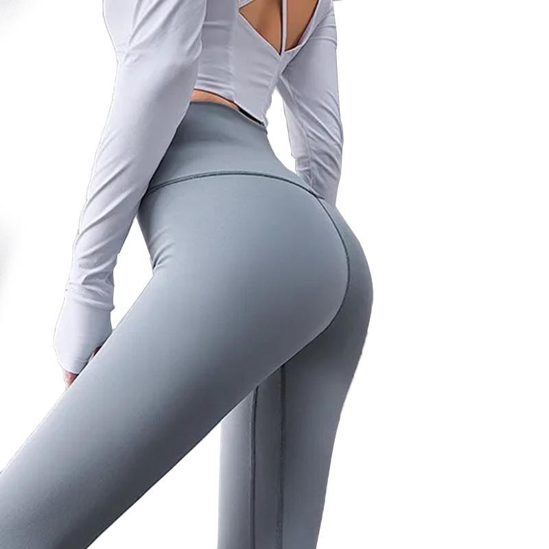 Quần legging lux màu xám