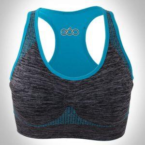 áo bra thermal viền xanh