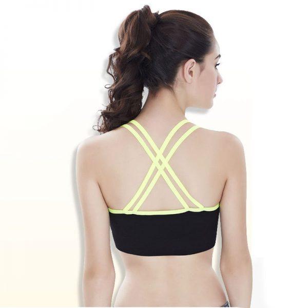 áo bra 360s elastic xanh