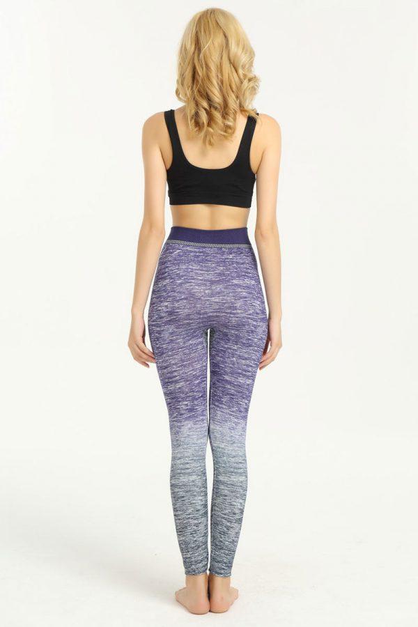 quần legging 360s saphia tím phối xám