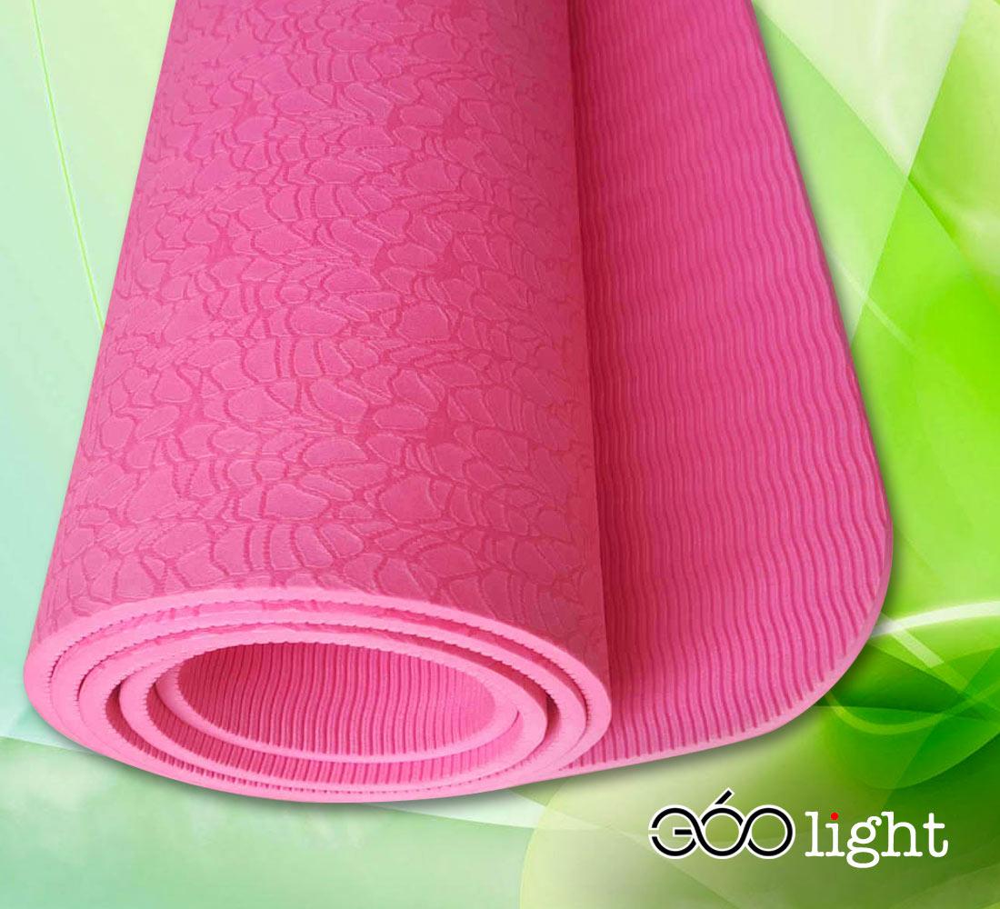 thảm tập yoga 360s light hồng tpe giá rẻ 6mm