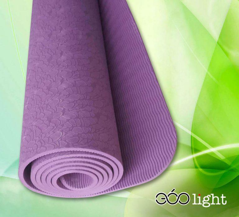 thảm tập yoga 360s light tím tpe giá rẻ 6mm