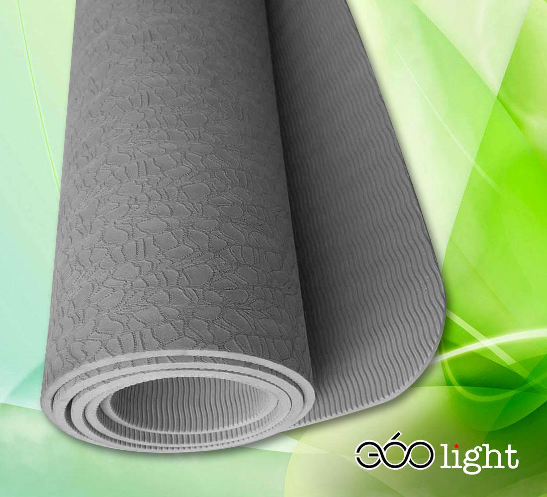 thảm tập yoga 360s light xám tpe giá rẻ 6mm