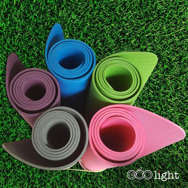 thảm tập yoga 360s light tpe giá rẻ 6mm