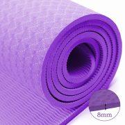 thảm tập yoga TPE 8mm 360s ultra màu tím
