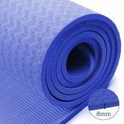 thảm tập yoga TPE 8mm 360s ultra màu xanh bích