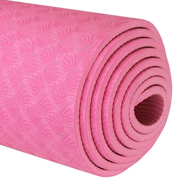 thảm tập yoga chính hãng 360s ultra màu hồng 6mm