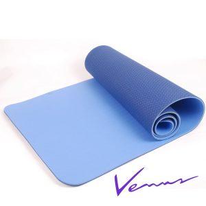 thảm tập yoga tpe 2 lớp 6mm 360s venus xanh dương