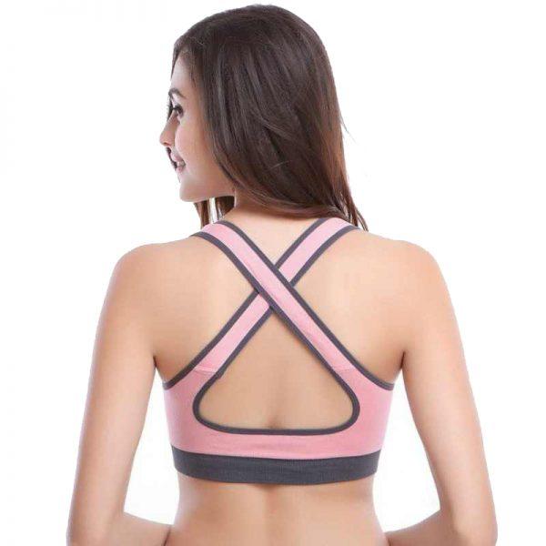 Áo bras 360s agless màu hồng phấn