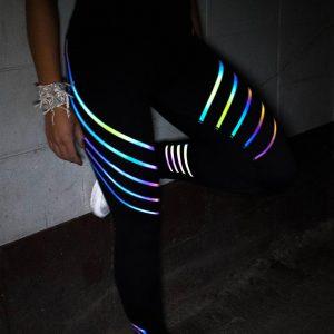 quần legging rainbow đen 360s