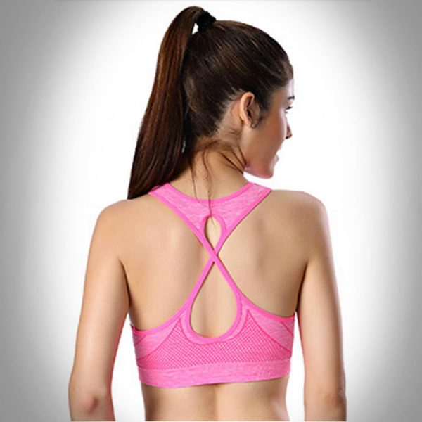 áo bra thể thao 360s standing hồng