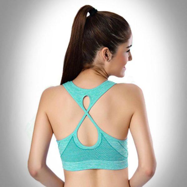 áo bra thể thao 360s standing xanh ngọc