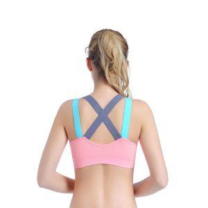 áo ngực thể thao motion hồng