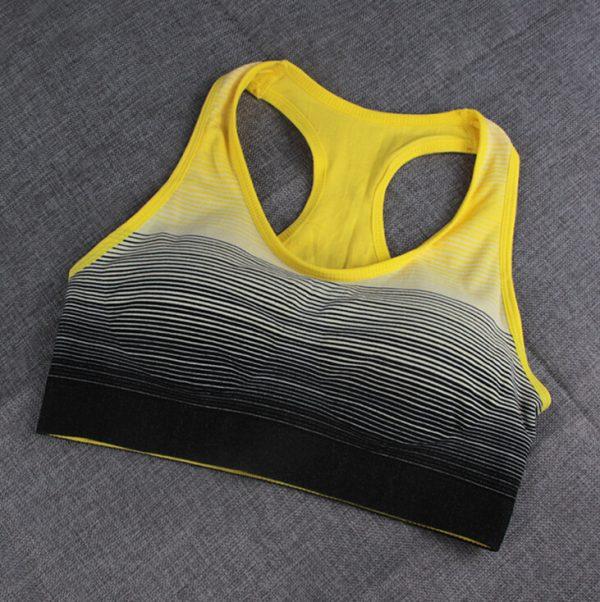 áo ngực thể thao 360s strappy vàng