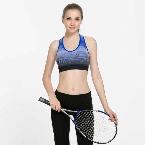 áo ngực thể thao 360s strappy xanh bích